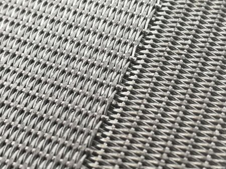 2 layer structure all Dutch weave sintered wire mesh