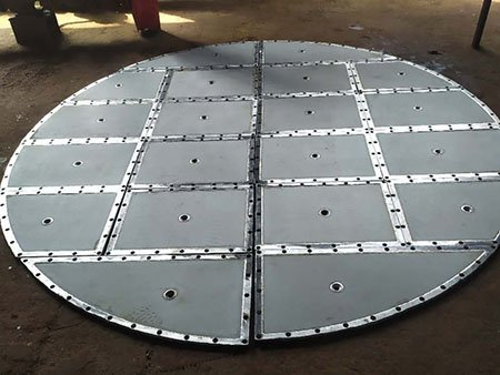 Assembly type of sintered metal mesh filter disc plate for nutche filter