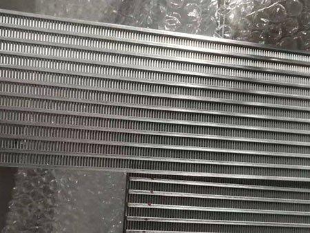 Duplex 2205 2507 stainless steel wedge wire filter screen