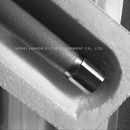 Stainless steel filter cartridges - sintered metal powder filter
