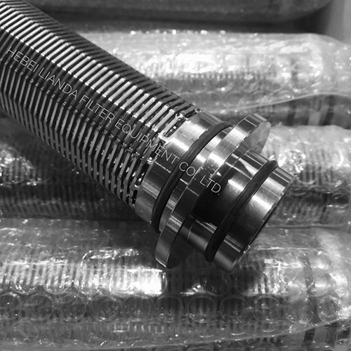 Stainless steel filter cartridges - wedge wire filter
